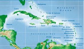Map Of Jamaica Blank by Caribbean Islands Map Visual Ly