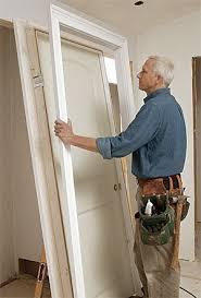 Hanging Prehung Door Interior Split Door Jamb U0026 Door Frame Repair Photo Check Out The New Wood