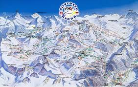 Colorado Ski Resorts Map by Samnaun Piste Map Trail Map
