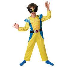 Halloween Costumes Wolverine Licensed Childs Classic Superhero Fancy Dress Costume
