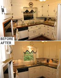 before and after kitchen cabinets painting oak kitchen cabinets before and after tatertalltails