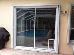 Exterior Doors At Lowes Patio Door With Pet Built In Exterior Large For Sliding Glass