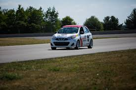 nissan micra rally car 2016 nissan micra cup proves you can race a cheap car with no