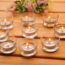 candle holders design hurricanes transparances clear pettle tiny