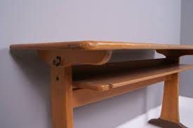 Vintage Kids Desk by Children U0027s Vintage German Double School Desk With Shelf Blue Ticking