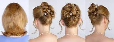 Hochsteckfrisurenen Schulterlange Haare Hochzeit by Brautfrisuren Und Hochsteckfrisuren Für Kurze Haare