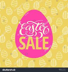 easter eggs sale easter sale poster design seamless easter stock vector 377069839