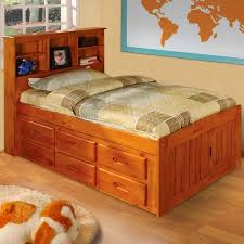 Twin Sized Bed Honey Bookcase 6 Drawer Twin Size Bed Free Shipping Today