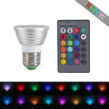 color changing flood light bulb tobeape 16 color changing flood light led bulb with wireless remote