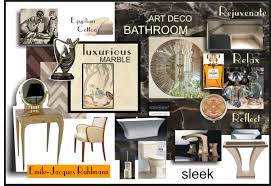 art deco bathroom mood board playuna