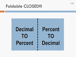 percent to decimal spi can i can transform numbers from one form to another ppt