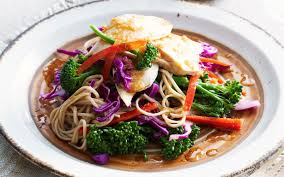 chicken and soba noodle salad recipe food to love