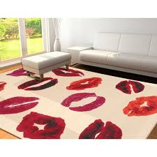 outstanding the most brilliant blue and red area rug modern