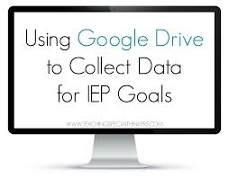 Form To Google Spreadsheet Be Proactive Using Google Docs To Collect Data For Iep Goals