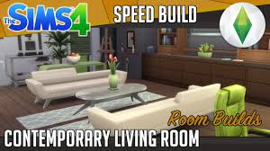 the sims 4 room build contemporary living room youtube