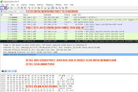 tutorial memakai wireshark pengertian dan fungsi wireshark sisi hacker vs administrator
