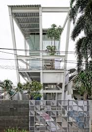 cg loft house pretending seemingly to fall down acts as antithesis