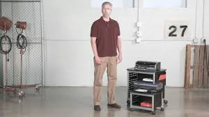 safco scoot printer stand youtube