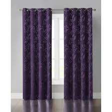 Blackout Purple Curtains Purple Blackout Curtains Wayfair