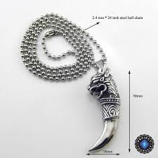 titanium pendant necklace images Gallant dragon titanium pendant necklace project yourself jpg