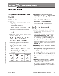 18 acids and bases