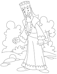 coloring page for king solomon king coloring page a royal king coloring pages king solomon temple
