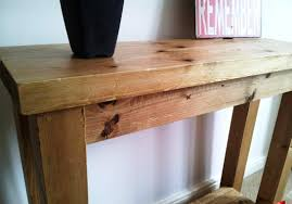 modern wood console table modern rustic console table ideas all home decorations