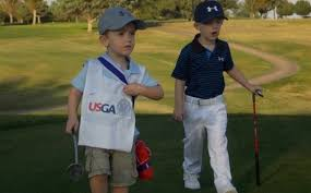 halloween costumes 2015 kids little kids wearing jordan spieth and michael greller costumes are