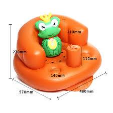 siege gonflable bébé rehausseur de chaise gonflable design à la maison