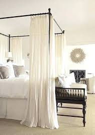 Sheer Bed Canopy Sheer Curtains For Canopy Bed Kakteenwelt Info