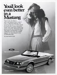 classic tribute to ford mustang advertisements from 1964 to 2004