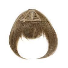 clip in fringe hair2wear fringe clip in bangs light brown 8370088 hsn