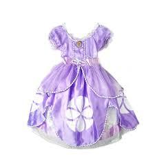 Toddler Princess Halloween Costumes Children Toddler Princess Sofia Flower Ball Grown