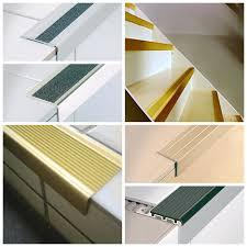 aluminum stair nosing solutions tile trim provider