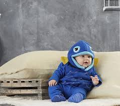 12 Month Halloween Costumes Boys Baby Blue Fish Costume 6 12 Months Pottery Barn Kids Riley