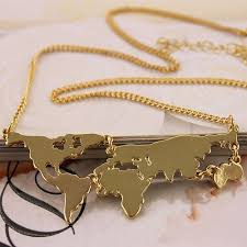 necklace metal types images World pinterest map necklace metal types and products jpg