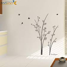 vinyl tree wall stickers home decorations zooyoo8228 living room