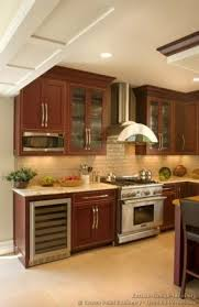 cherry wood kitchen ideas wood microwave cabinet ideas on foter trendy kitchen