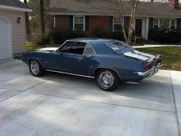dusk blue camaro 1967 1969 camaro factory paint