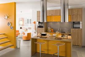 cuisine chaude décoration cuisine les couleurs tendances