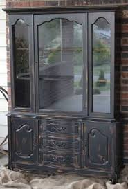 Black China Cabinet Hutch by Allegro Buffet And Hutch Platinum Dining Room Pinterest