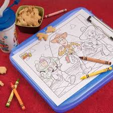 coloring pages kids toy buzz lightyear crayons