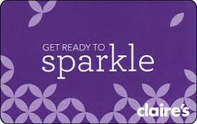 claires gift card gift card get ready to sparkle s united states of