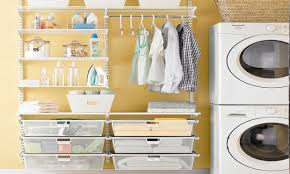 Laundry Room Detergent Storage Glamorous Elfa Laundry Room Contemporary Best Ideas Exterior