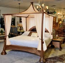 4 Bed Frame King Canopy Bed Can Make You Feel Like Royalty Modern