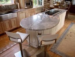 table cuisine sur mesure cuisine avec îlot central 43 idées inspirations