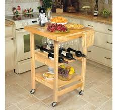 folding island kitchen cart folding island kitchen cart with extendable shelves page 1 qvc