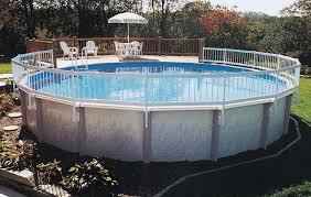 amazon com gli above ground pool fence base kit 8 section