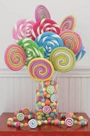candy centerpieces candy topiary candy land theme party ideas