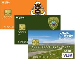 debit card for wyhy federal credit union visa emv debit cards
